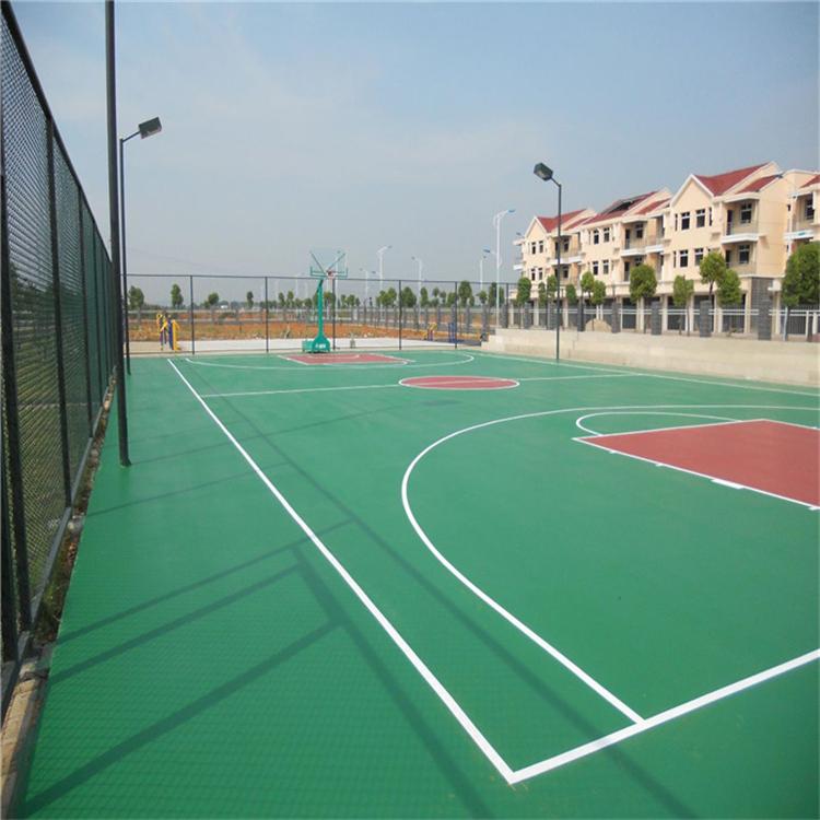 马鞍山塑胶篮球场篮球场翻新篮球场施工