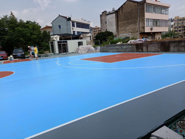 东营pu球场篮球场翻新篮球场施工