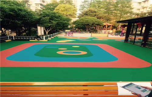 西藏塑胶篮球场篮球场翻新篮球场地面