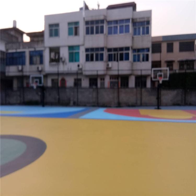 西藏球场材料篮球场翻新篮球场地面