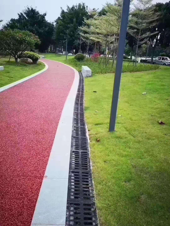 黔西南彩色防滑路面彩色沥青透水地坪
