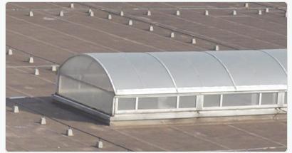 黑龙江通风气楼屋顶轴流风机薄形通风器