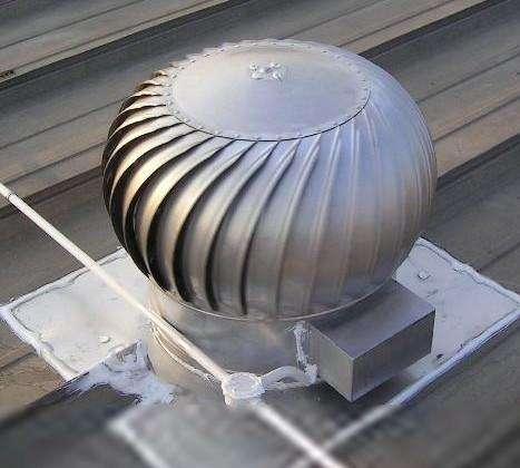 黑龙江屋顶轴流风机通风气楼薄形通风器