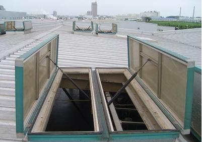 湖南省怀化市电动采光排烟天窗安装服务