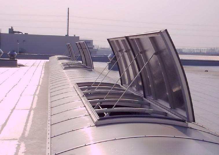 湖北省黄冈市电动采光排烟天窗安装服务