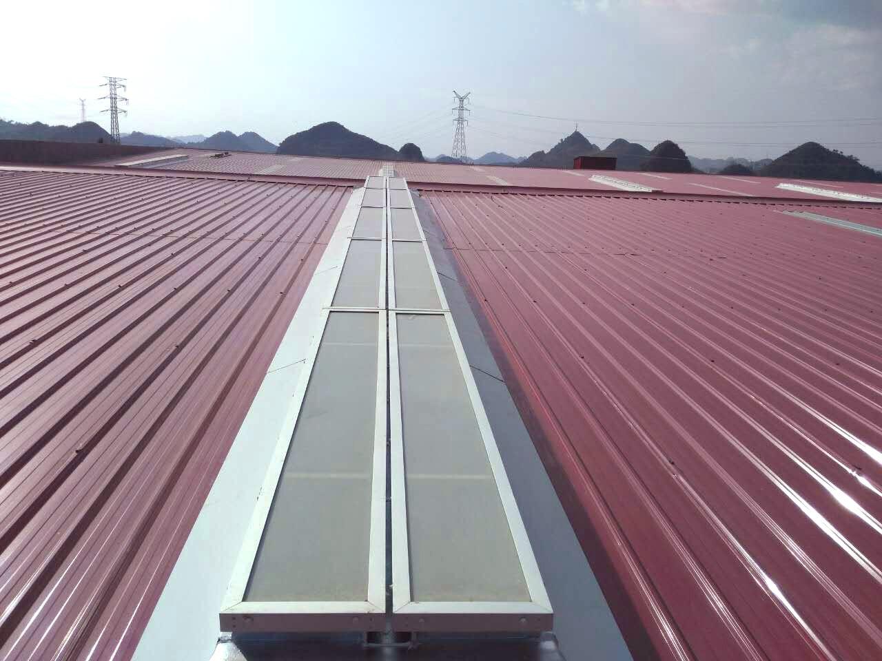 临沂电动采光排烟天窗屋顶轴流风机通风气楼