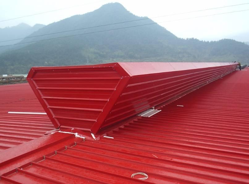 黔西南自然通风器电动采光排烟天窗屋顶轴流风机