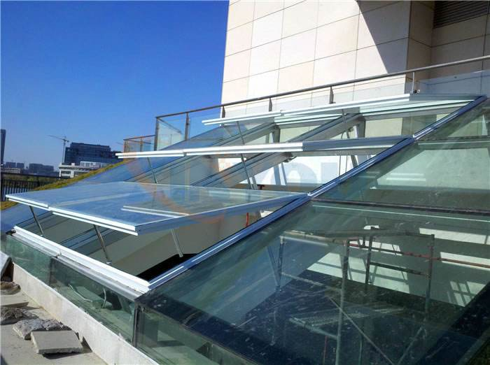 临沂自然通风器电动采光排烟天窗屋顶轴流风机