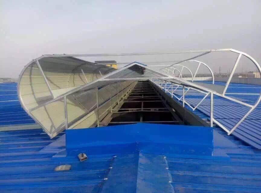 锦州薄形通风器自然通风器电动采光排烟天窗