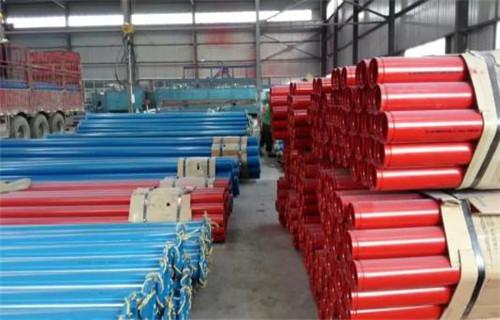 海南省涂塑管大口径涂塑复合钢管现货