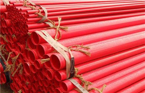 山东省临沂市排水涂塑复合钢管供应商