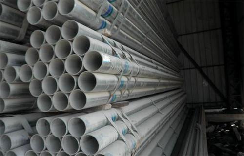 济南165大棚管每米价格
