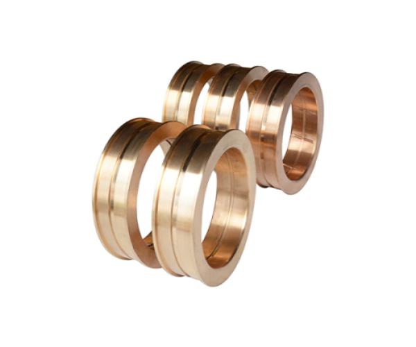 东营液压回转窑轴衬耐磨锡青铜铜套使商品配套