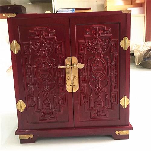 河北省廊坊市燕窝木盒包装定制 工艺品木盒
