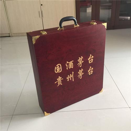 山东省东营市高端木包装盒加工厂 礼品实木盒直接工厂