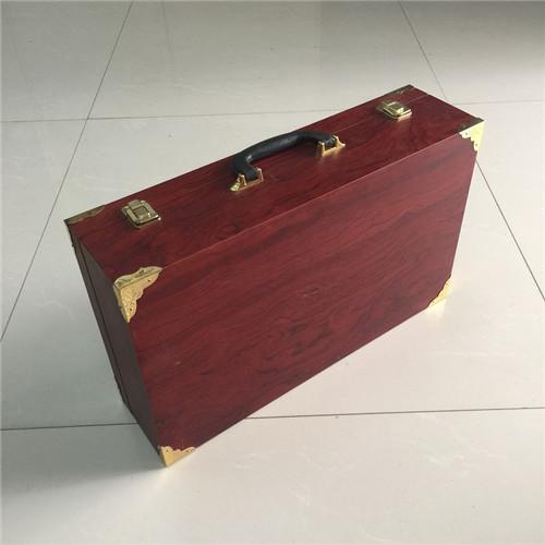 西藏省海参实木包装盒制作 白酒木盒直接工厂