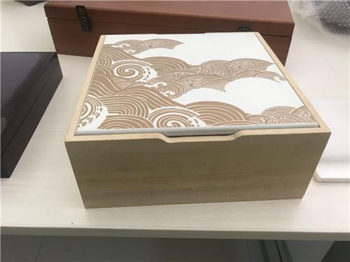 福建省漳州市喷漆木盒生产厂家高光漆木盒好