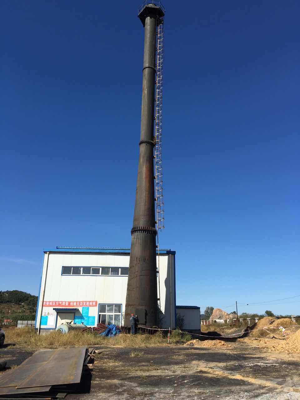 沧州35米新建砖烟囱工程公司价格