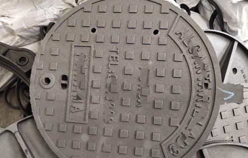 漳州900*1150球墨铸铁井盖防盗方形球墨铸铁井盖