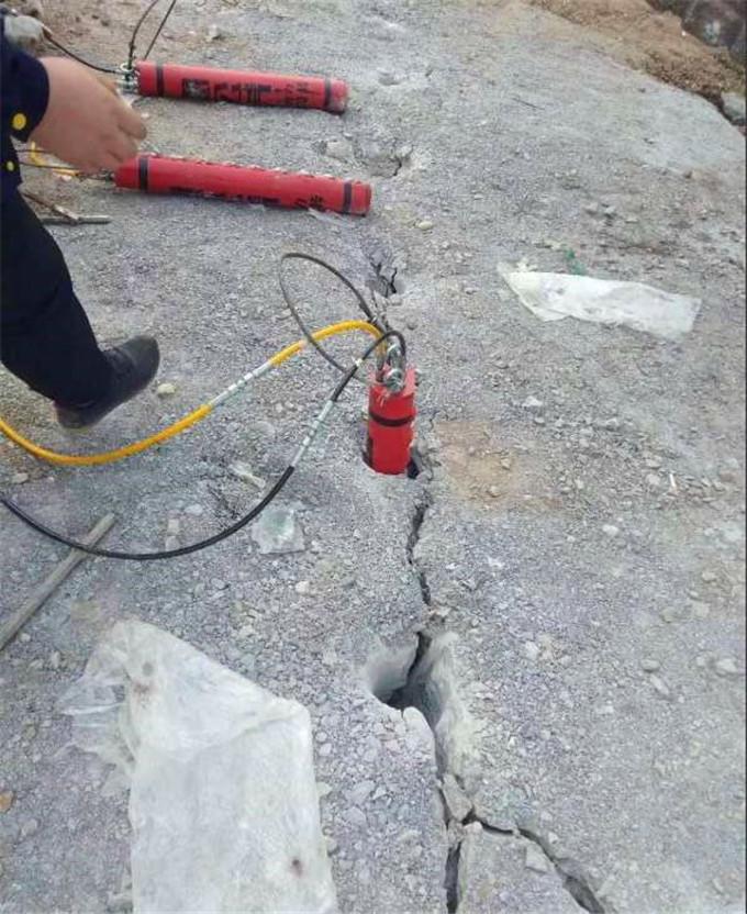 北京:城建施工遇到硬石头如何破碎
