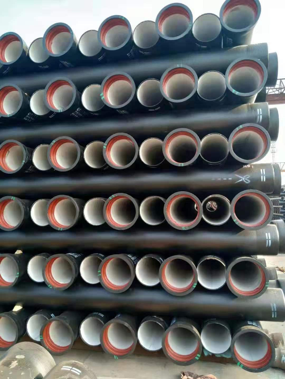 呼伦贝尔厂家直销K7球墨铸铁管