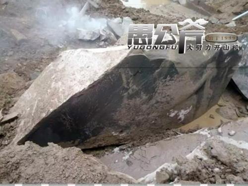 大型开采石头劈裂机一天多少方安庆市