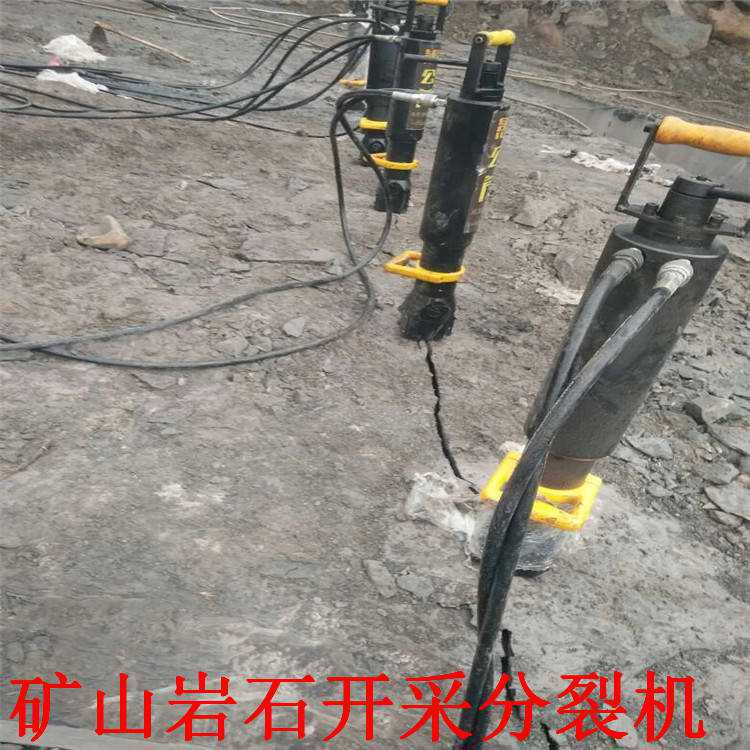 静态液压劈裂机日产多少方洛阳市