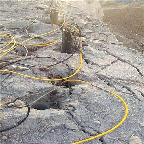 池州市无声破碎路基石头不用炮头机