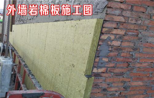 安徽阜阳市内墙防火岩棉板供货价