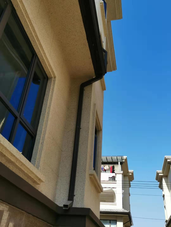 洛阳落水管尺寸阳光房方形水管杭州飞拓建材科技有限公司