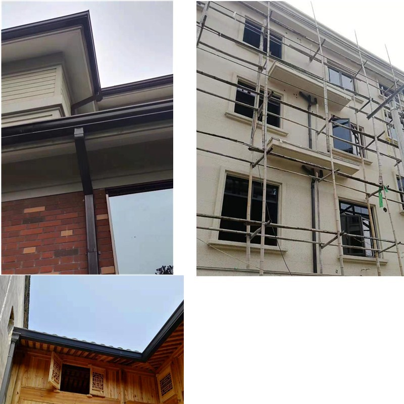 厦门批发市场铝合金屋檐排水槽杭州飞拓建材