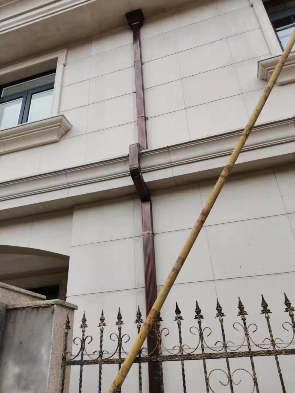 湖南彩铝落水系统材料计算杭州飞拓建材科技有限公司