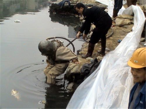 过河段管道水下安装公司@攀枝花案例