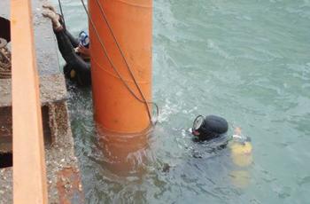 水下开槽铺设管道公司@攀枝花案例