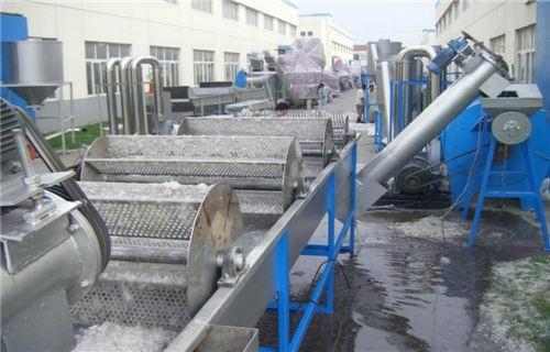马鞍山120型pet破碎清洗回收生产线