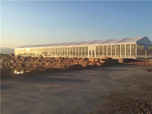 亳州玻璃篷房出租25米篷房租赁大量现货便宜出租