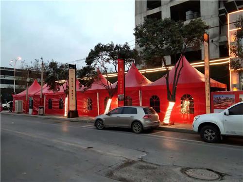 驻马店白色展会大棚租赁边高3米篷房租赁