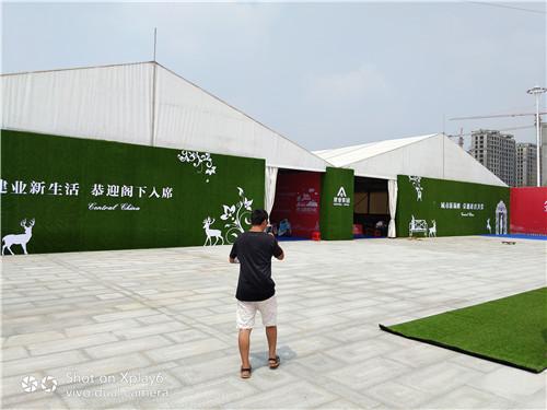 驻马店临时展厅搭建出租全国承接篷房租赁