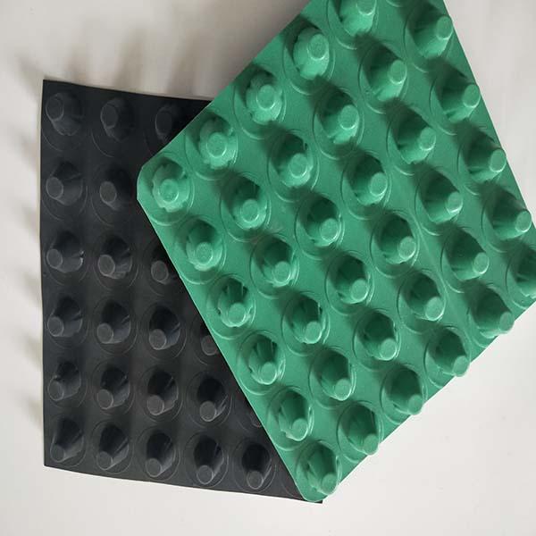 天水(复合排水板)安装施工