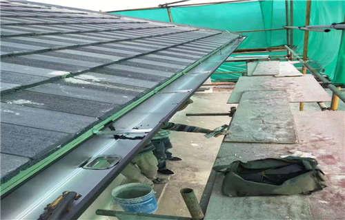 东营雨雪天檐口水槽吊件如何安装
