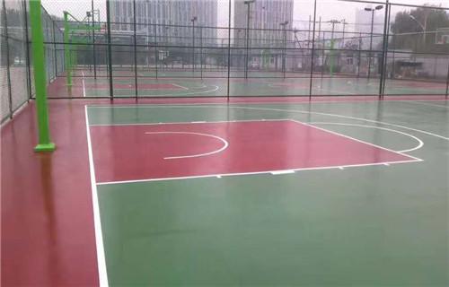 东营硅pu地面施工硅pu球场建设厂家