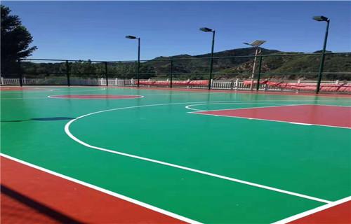 锦州保质量低价格网球场建设厂家