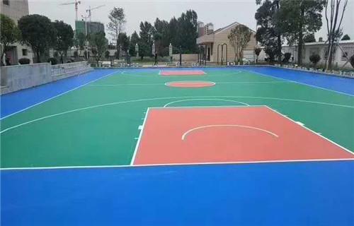 临沂硅pu地面施工硅pu球场建设厂家