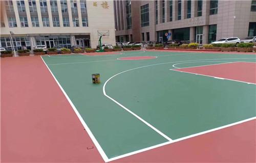 临沂厂家欢迎咨询篮球场施工价格