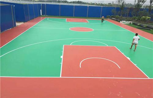 黑龙江室内篮球场专业承接厂家篮球场地面建设