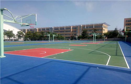 湖南硅pu篮球场材料销售价位