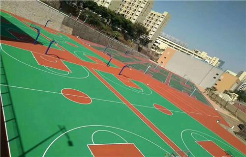 东营室内篮球场专业承接厂家篮球场地面建设