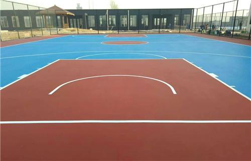 廊坊网球场新国标网球场材料建设