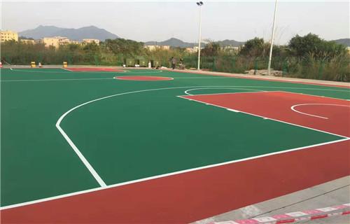 东营室内球场承接篮球场施工专业承接