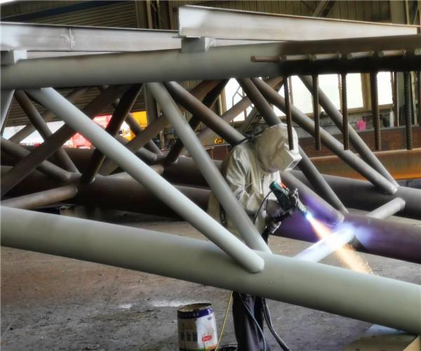 济南桥梁喷铝